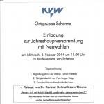 KVW-Ortsgruppe Schenna Jahreshauptversammlung 2014 - Vortrag 001
